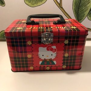 Hello Kitty Tin lunch box
